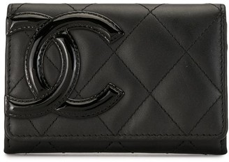 Chanel Pre Owned 2015 Cambon Line coin purse