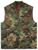 Ralph Lauren Boys 8-20 Camouflage Patterned Quilted Vest