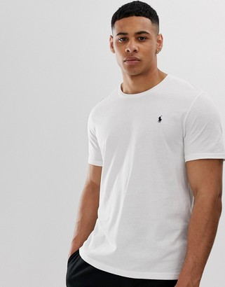 Polo Ralph Lauren short sleeve top crew neck in white