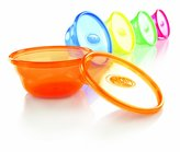 Nuby 539640 Wash or Toss Bowls, 6-Pack