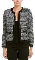 The Kooples Tweed Wool-blend Blazer.