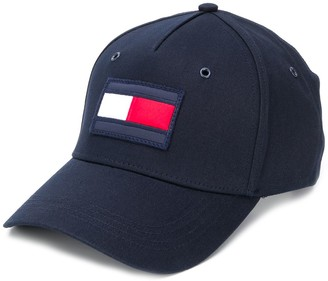Tommy Hilfiger Logo-Embroidered Panelled Cap