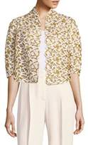 Akris Vasco Open Front Blazer