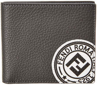 Fendi Stamp Leather Wallet