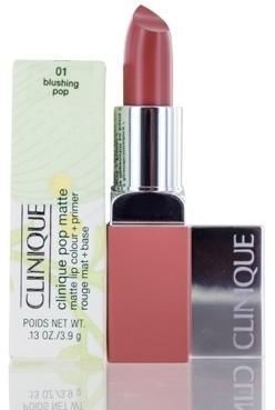 Clinique / Pop Matte Lip Color + Primer 01 Blushing Pop .13 oz