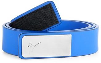 Giuseppe Zanotti Rubber Plate Belt