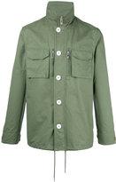 Han Kjobenhavn roll neck shirt jacket - men - Cotton - M