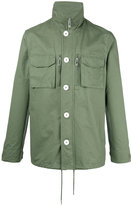 Han Kjobenhavn roll neck shirt jacket