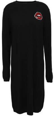 Markus Lupfer Intarsia Merino Wool Dress
