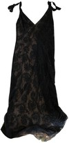 Monique Lhuillier Black Cotton Dress for Women
