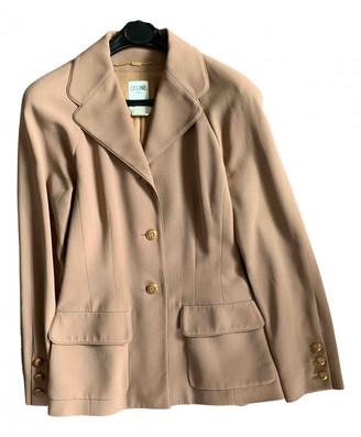 Celine Pink Wool Jackets