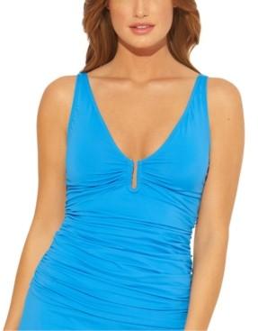 BLEU by Rod Beattie Tankini Top Women's Swimsuit