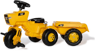 Kettler CAT 3-Wheel Tricycle Tractor with Trailer