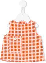 Marni check print poplin top - kids - Cotton - 3 mth