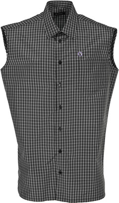 Raf Simons Sleeveless Checked Shirt