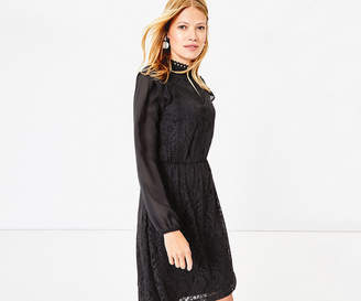 Oasis Lace Blouse Dress