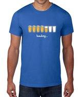 FLOSO Mens Loading Beer Short Sleeve T-Shirt (L)