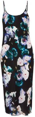 Ophelia Blues Midi Slip Dress