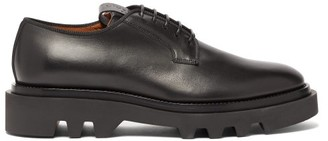 Givenchy Tread-sole Leather Derby Shoes - Black