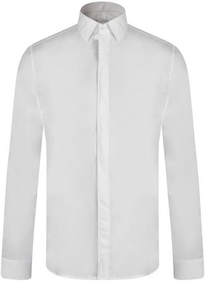 Versace Medusa Placket Long Sleeved Shirt