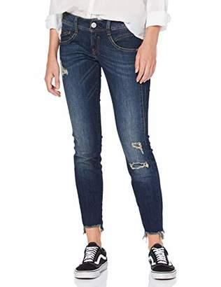 Herrlicher Women's Gila Slim Cropped Jeans, (Rough Blues Destroy 829)
