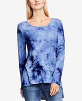 Vince Camuto TWO by Vince High-Low Tie-Dyed Top