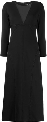 DSQUARED2 deep V-neck dress