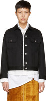Acne Studios Black Denim Lamp Jacket
