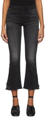 Frame Black Le Crop Mini Boot Released Hem Jeans
