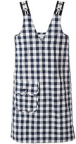 Peter Jensen Gingham shift dress - women - Cotton/Polyamide - S