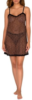 Smart & Sexy Womens Sheer Lace & Mesh Chemise Lingerie