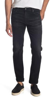 AG Jeans Tellis Black Straight Leg Jeans