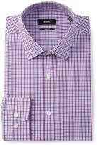 BOSS Check Sharp Fit Dress Shirt