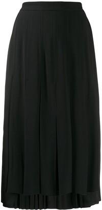 No.21 Pleated Midi Skirt