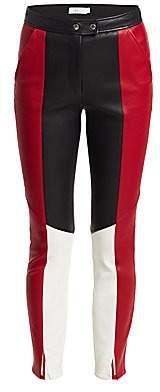 A.L.C. Women's Devin Colorblock Leather Pants