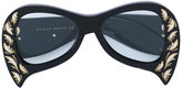 Gucci inverted cat eye glasses - women - Acetate - One Size