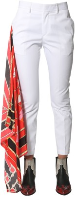 MSGM Pants With Scarf Detail