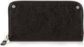 Balenciaga Leather continental wallet