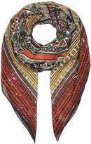 Valentino Tribal Ribbons Cashmere & Silk Shawl
