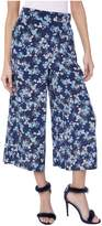 Juicy Couture Floral Bouquet Silk Wide Leg Pant