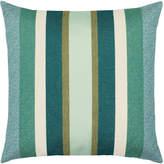 Elaine Smith Stripe Sunbrella Pillow, Green