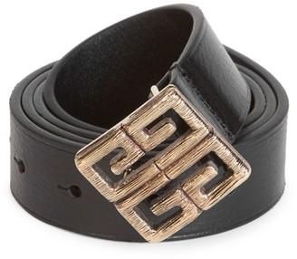 Givenchy Five-Notch Leather Belt