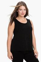Eileen Fisher Plus Size Women's Silk Tank