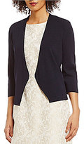 Preston & York Willow Drape 3/4 Sleeve Cardigan