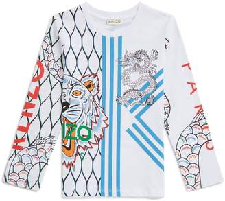 Kenzo Dragon And Tiger T-Shirt
