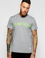 Penfield T-shirt With Collegiate Logo - Grey