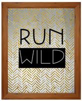"PTM Images Run Wild Silkscreened Print - 20.75"" x 16.75"""