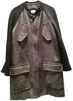 Stella Forest Grey Wool Coat for Women