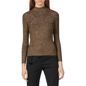 Sandro Shinny Knit Sweater