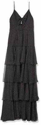 Jill Stuart Jill Women's Tiered Polka dot Dress